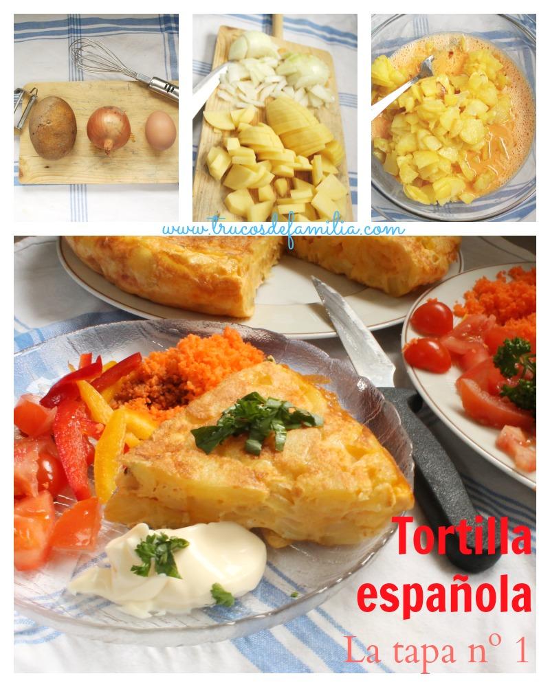 Tortilla española o tortilla de patata.